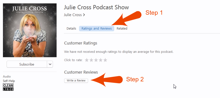 Julie Cross Podcast