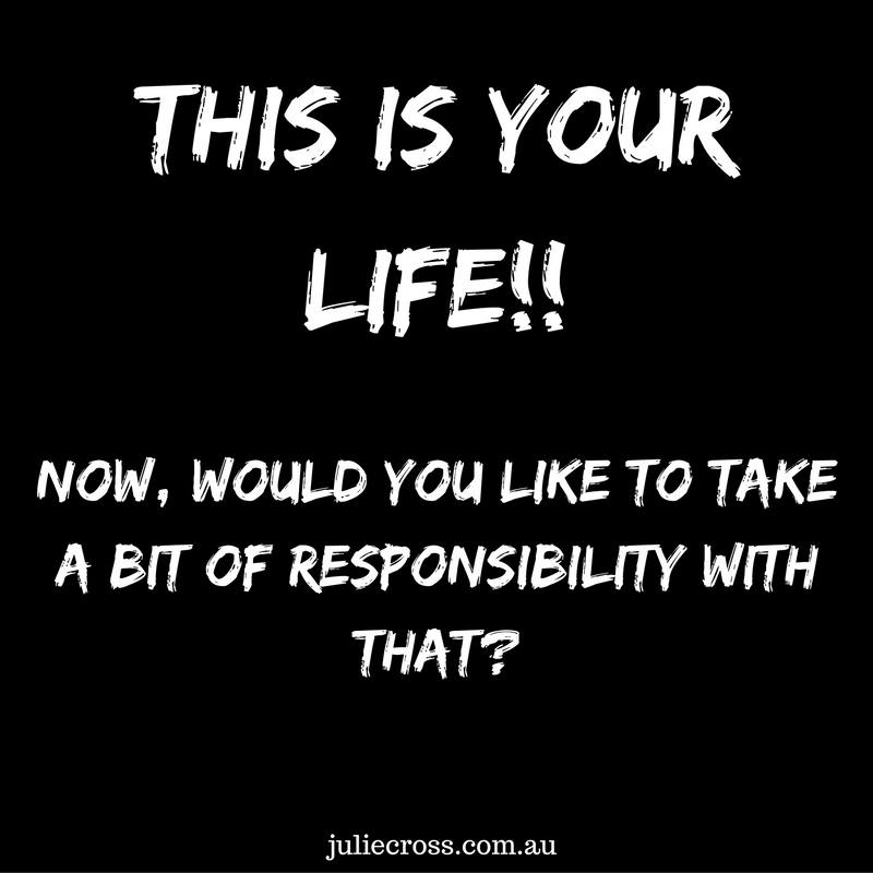 Reflect and Take Responsibility