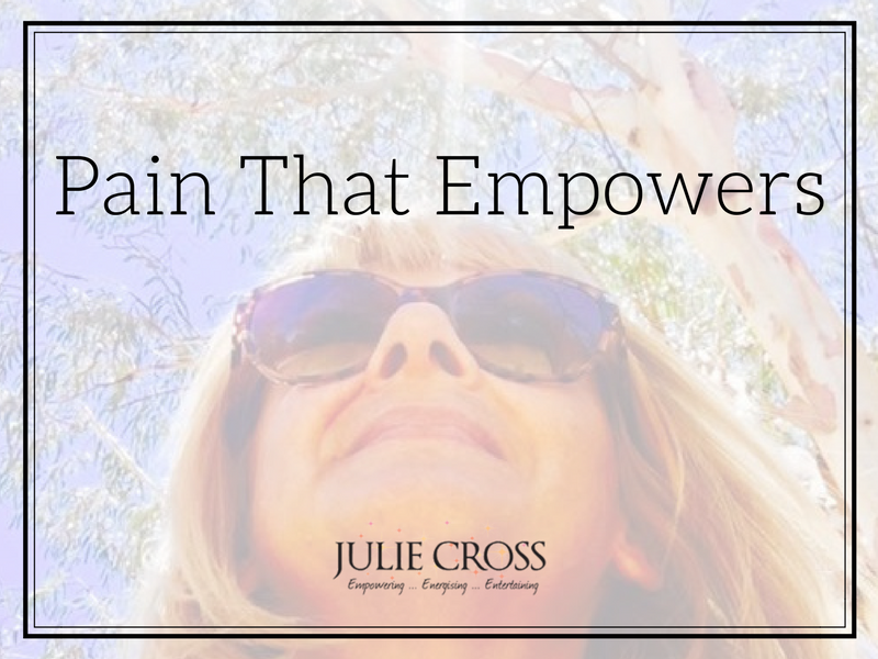Pain That Empowers