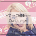 MC at Childcare Conference