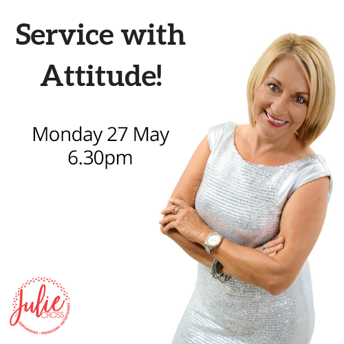 service with attitude julie cross