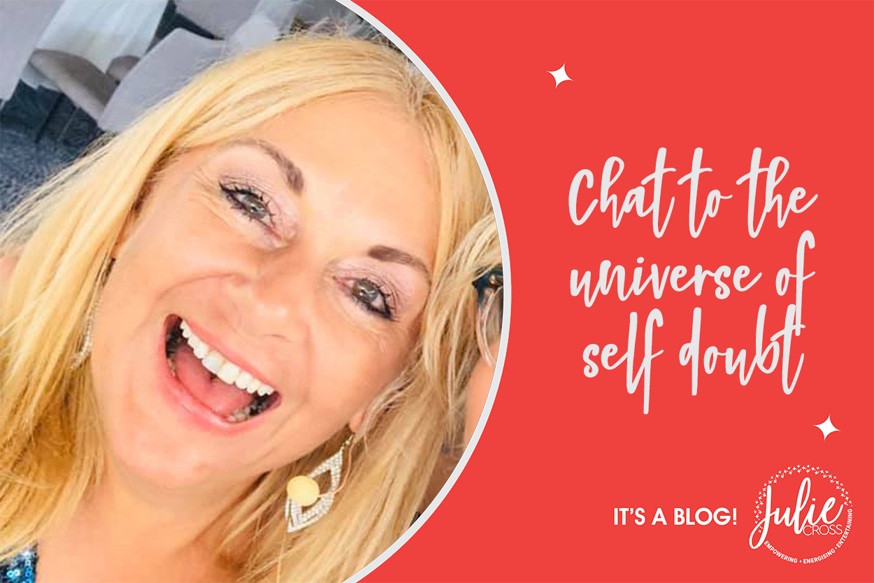 Chat to the universe of self doubt